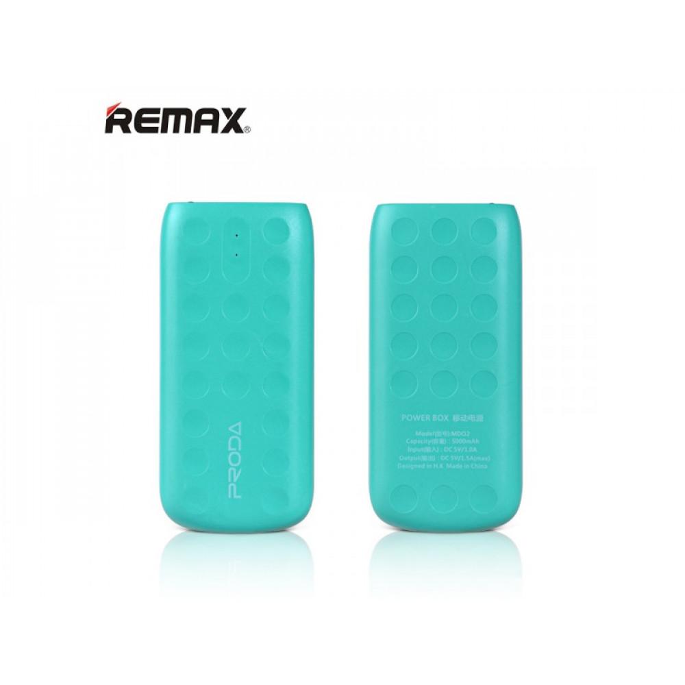 Remax Proda Power Box Lovely 5000 mAh Green