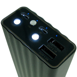 REMAX Vanguard Power Bank 20000mAh Black (RP-V20)