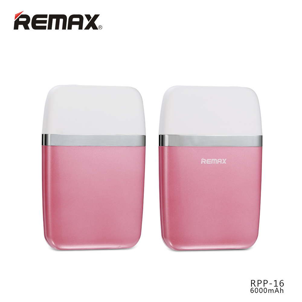 REMAX Powerbank RPP-16 6000mAh Pink
