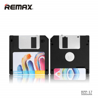 REMAX Floppy Disk Power Bank RPP-17 5000mAh Black