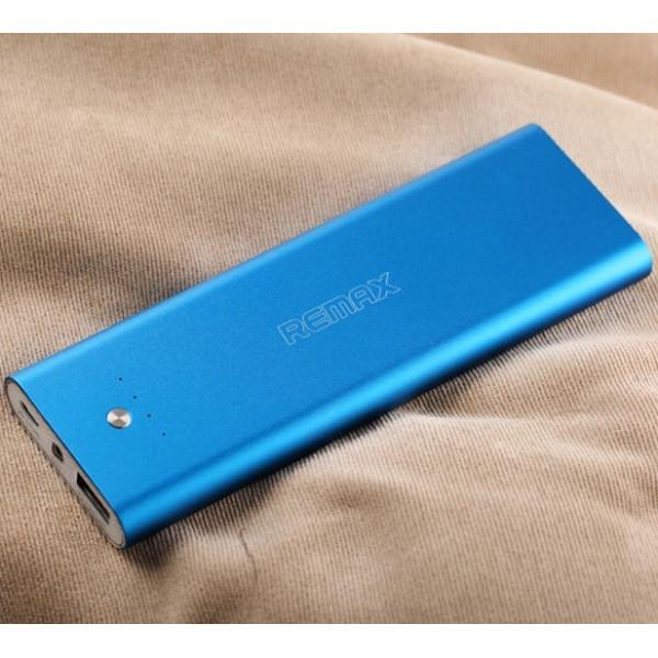 Внешний аккумулятор (Power Bank) Remax (RPP-23) 5500mAh Синий