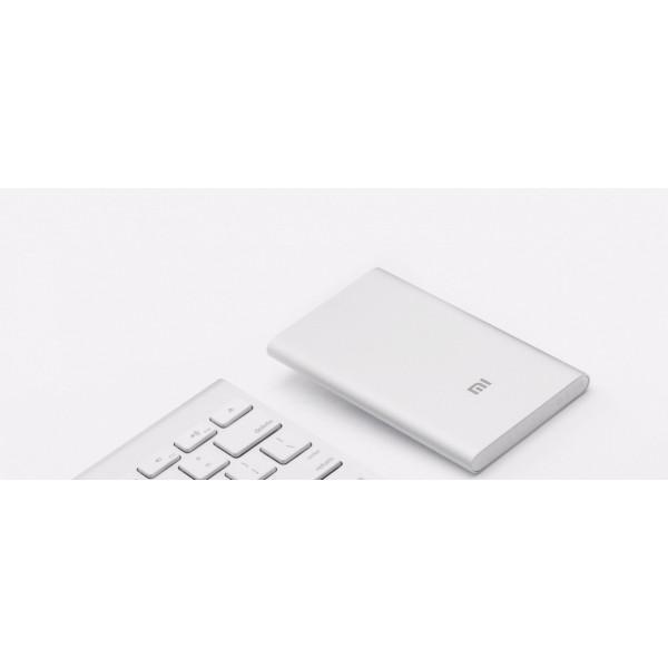 Внешний аккумулятор Xiaomi Power Bank 5000mAh (NDY-02-AM) Серебристый