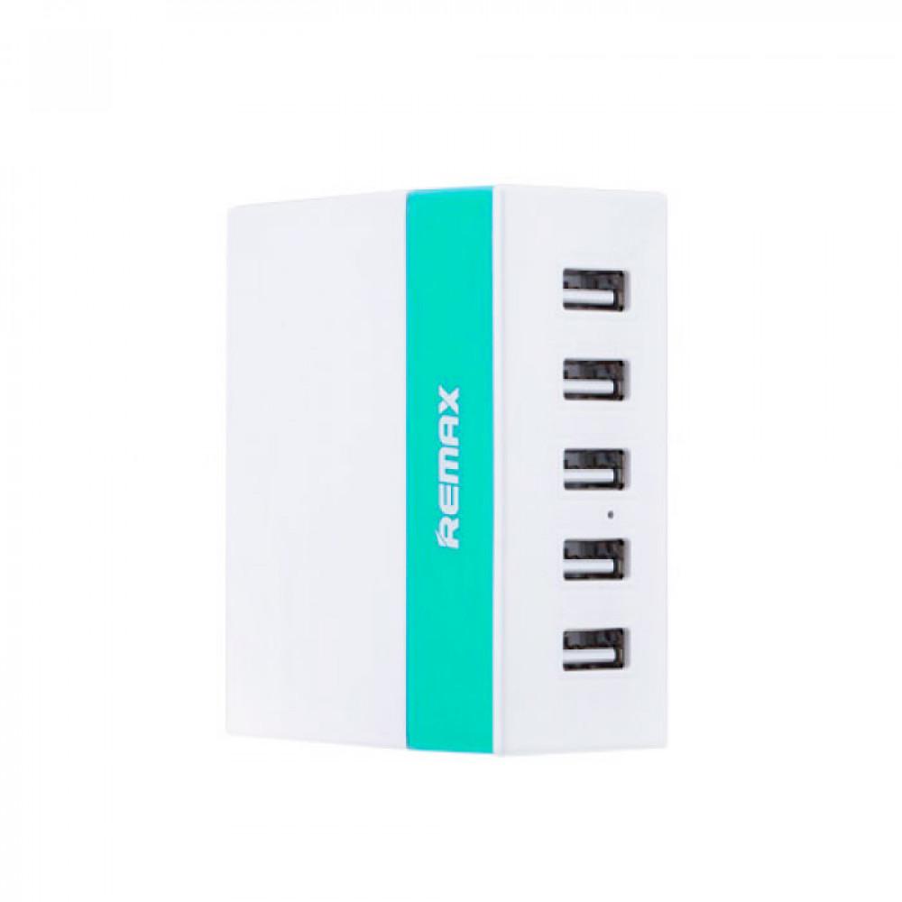 Зарядное устройство Remax RU-U1 Green 5in1