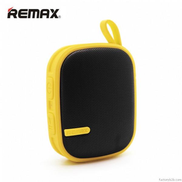 Портативная колонка Remax RB-X2 Yellow