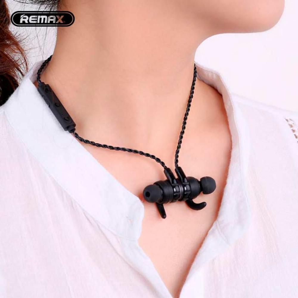 Беспроводная гарнитура Remax Bluetooth Headset RB-S10 Black