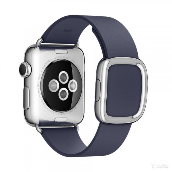 Ремешок с современной пряжкой Apple (Blue)