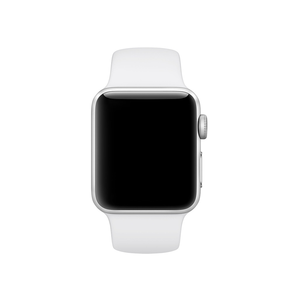 Спортивный ремешок Apple (Белый)
