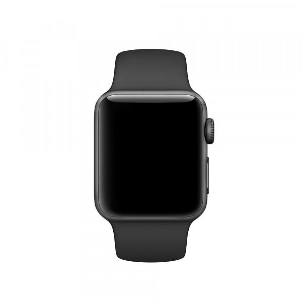 Спортивный ремешок Apple (Чёрный)