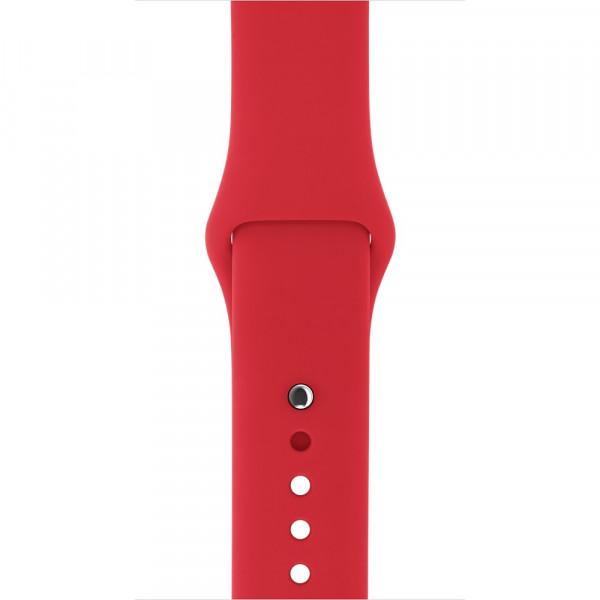 Спортивный ремешок Apple (Красный)