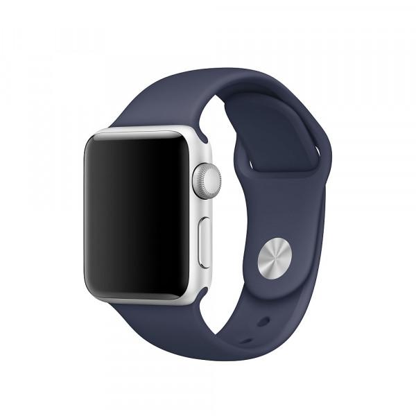 Спортивный ремешок Apple (Тёмно-синий)