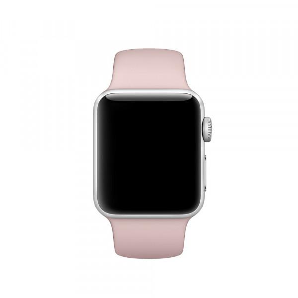 Спортивный ремешок Apple (Розовый песок)
