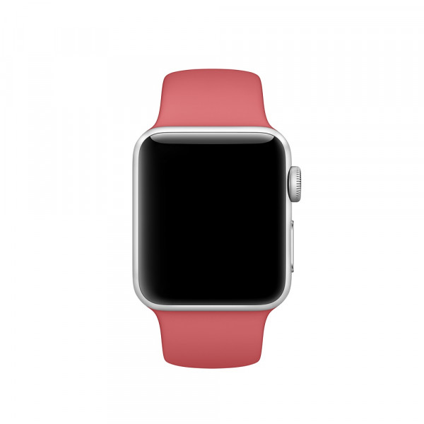 Спортивный ремешок Apple (Розовая камелия)