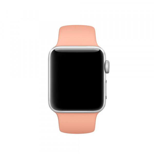 Спортивный ремешок Apple (Розовый фламинго)