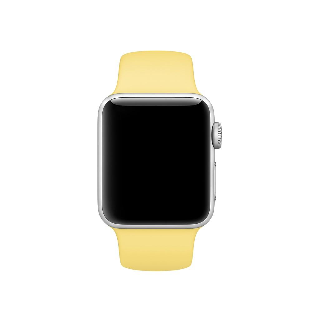Спортивный ремешок Apple (Жёлтая пыльца)