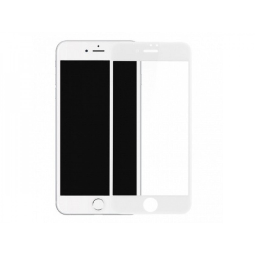 Защитное стекло Baseus 3D Silk Screen для iPhone 7/8 Plus White