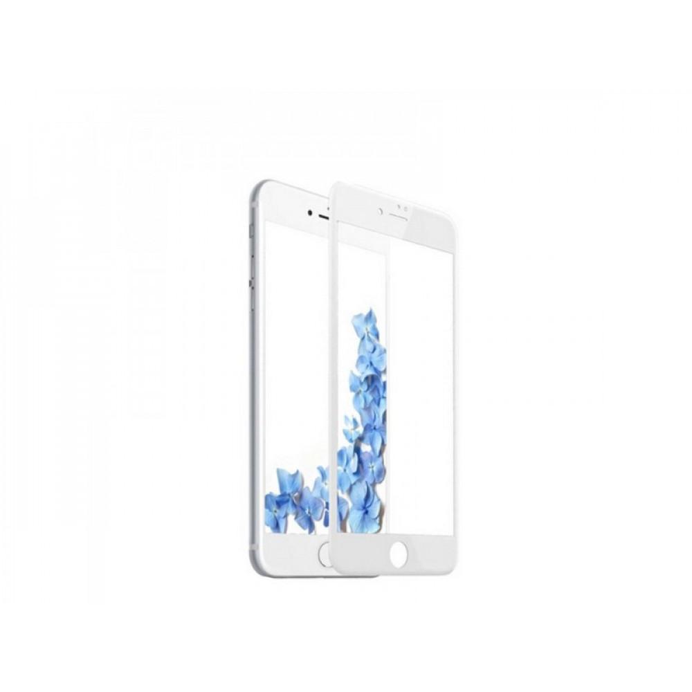 Защитное стекло Baseus 3D PET Soft для iPhone 7/8 Plus White