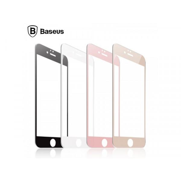 Защитное стекло Baseus 3D PET Soft для iPhone 7/8 Black