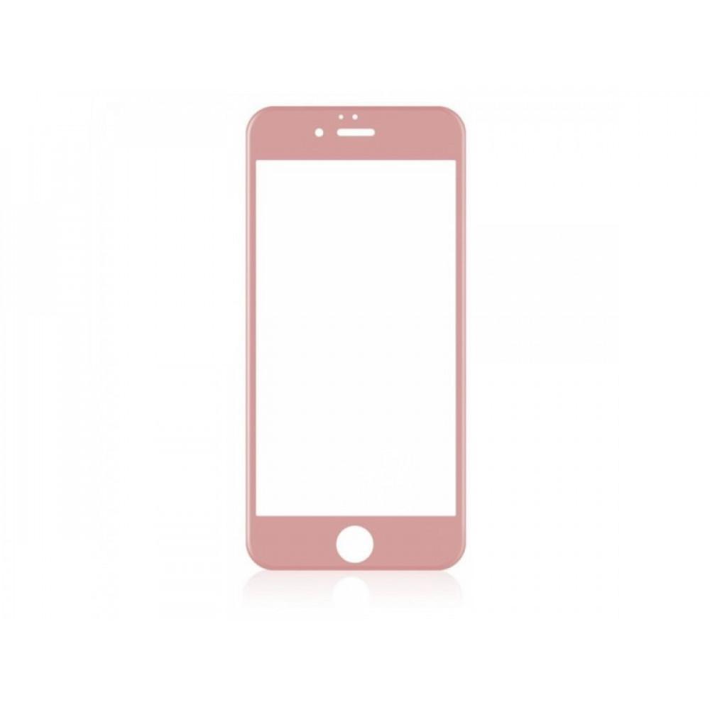 Защитное стекло Baseus 3D PET Soft для iPhone 7/8 Rose Gold