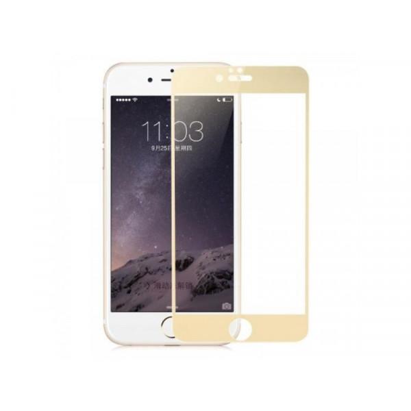 Защитное стекло Baseus 3D PET Soft для iPhone 7/8 Gold