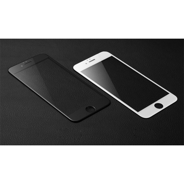 Защитное White 3D стекло для iPhone 5/5c/5s/SE