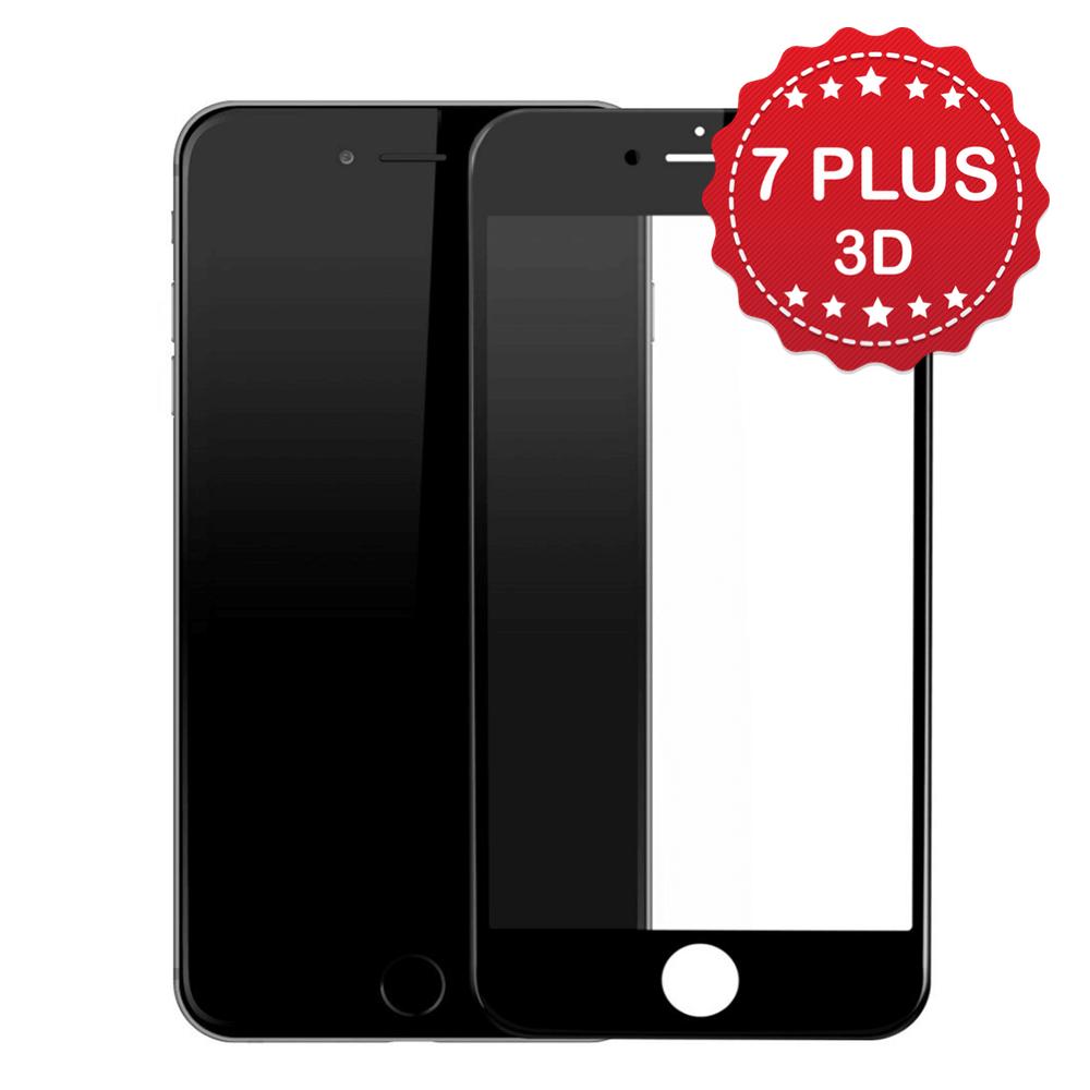 Защитное Black 3D стекло для iPhone 7 Plus/8 Plus
