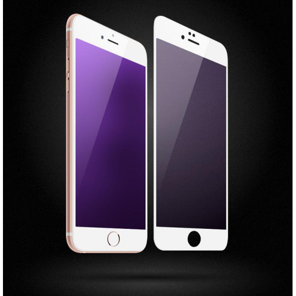 Защитное White 3D стекло для iPhone 7 Plus/8 Plus