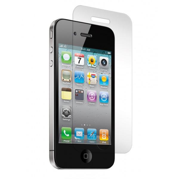 Защитное стекло для iPhone 4/4S 0.3mm (без упаковки)