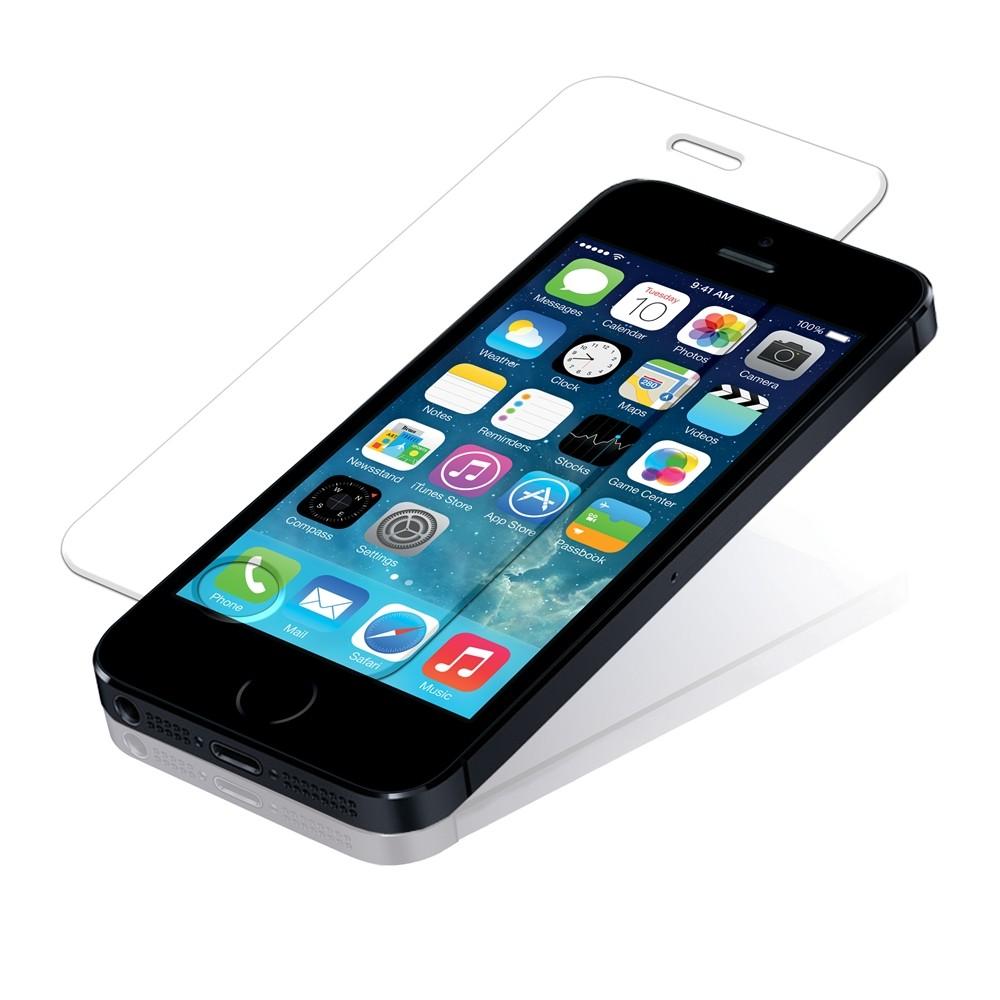 Защитное стекло для iPhone 5/5c/5s/SE 0.3mm (без упаковки)