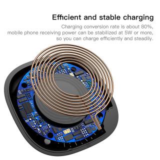 Беспроводная зарядка Baseus Square-circle Wireless Charger White