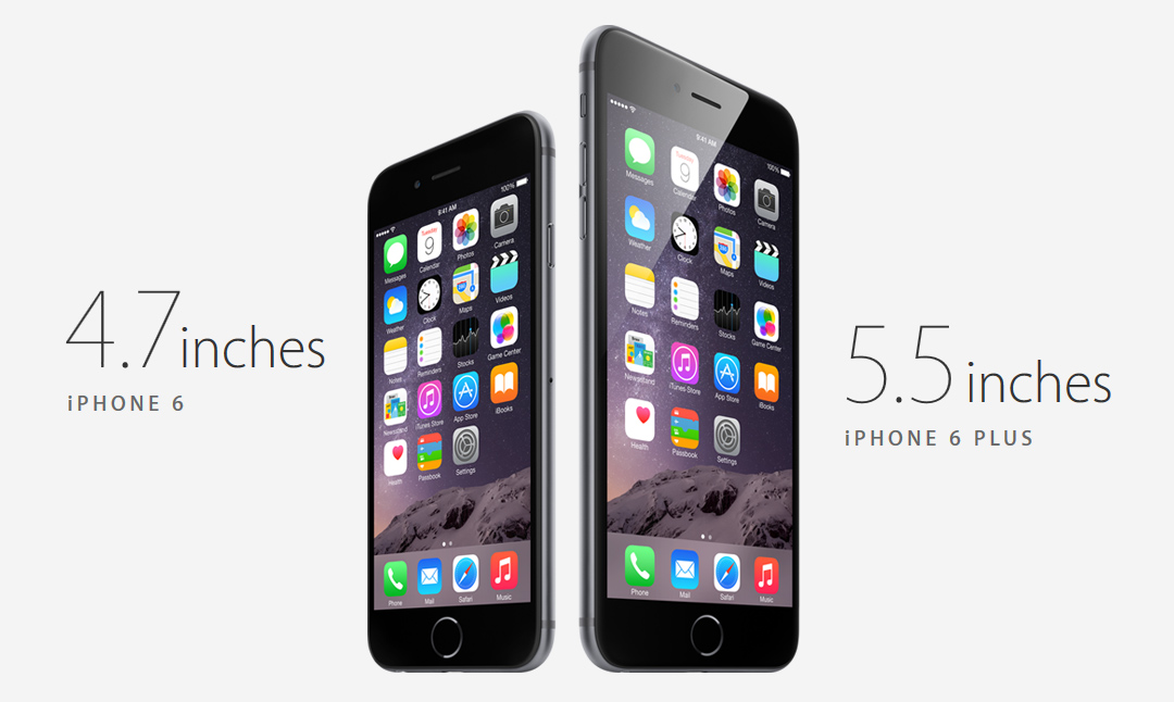 iPhone 6 и iPhone 6 Plus